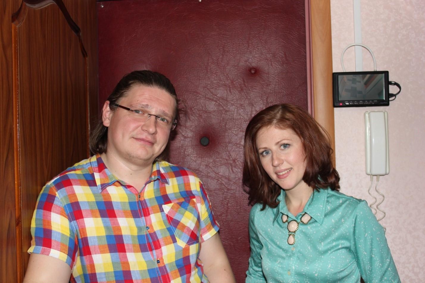 Я с Егором Морозовым (режиссер «про декор»)